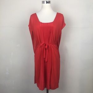 Twelfth Street by Cynthia Vincent Tie Dress Red